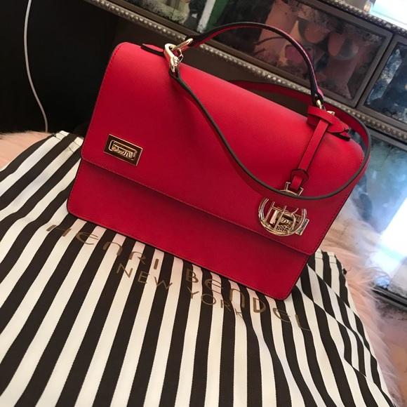 henri bendel Handbags - Henri Bendel Ruby red crossbody bag